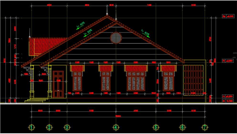 Tổng hợp 20 bản vẽ autocad nhà cấp 4 đẹp (Download Free)