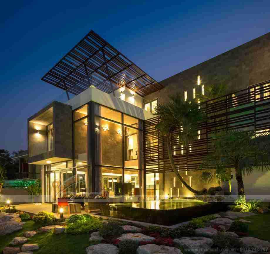 15 mẫu biệt thự nhà vườn 3 tầng với không gian sống chất lượng