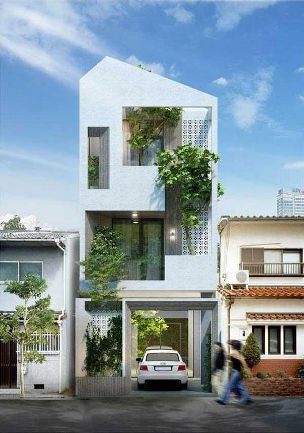 Mẫu nhà phố 3 tầng 5x20m đẹp được lựa chọn nhiều trong năm